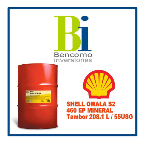 shell omala 460
