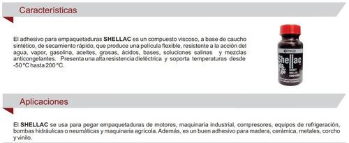 shellac frasco x 2 oz - sinteco 1307031