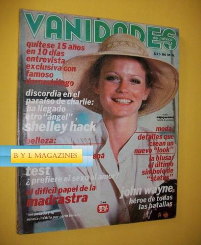 shelley hack angeles de charlie revista vanidades 1979