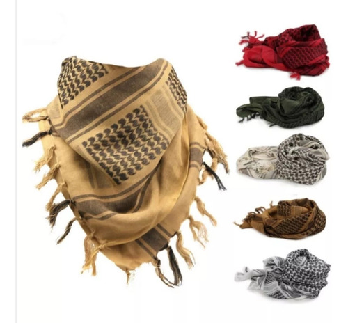 shemagh árabe militar hatta o bufanda árabe pañoleta