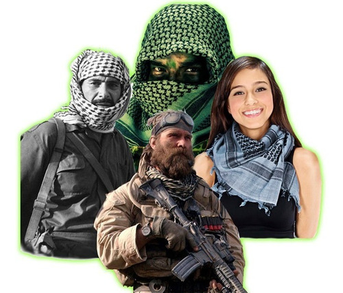 shemagh militar tactico bufanda arabe turbante pashmina