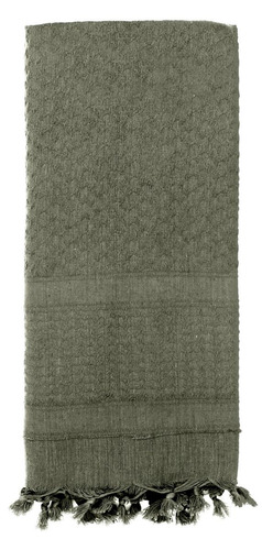 shemagh rothco unicolor solid color tactical scarf foliage