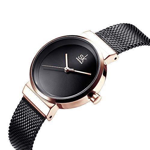 c832c96814c1 Shengke Mujeres Fasion Relojes Reloj De Cuarzo Damas Elegan ...