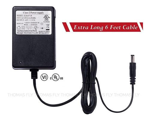 shengle cargador de batería de 6 voltios cargador de 6v p...
