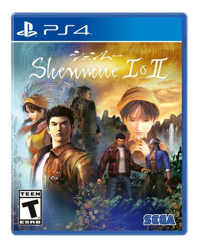 shenmue i & ii playstation 4 - ps4