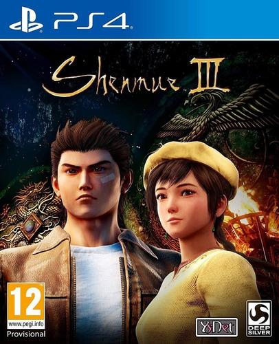 shenmue iii ps4 - juego fisico - envio gratis