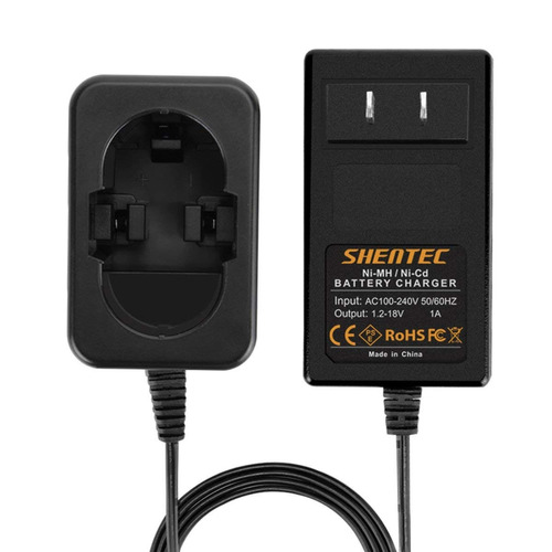 shentec 1.2v-18v batería cargador para bosch de ni - mh / d