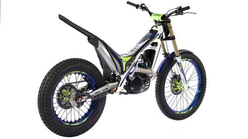 sherco 125 st factory 2018 moto trial no ktm - palermo bikes