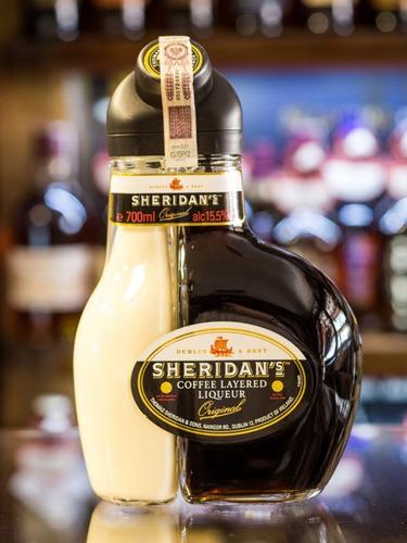 sheridan's licor de café y crema 700cc imp. irlanda envios!