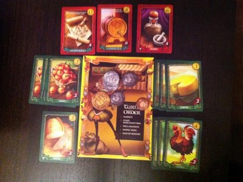 sheriff of nottingham - juego de mesa / envio gratis