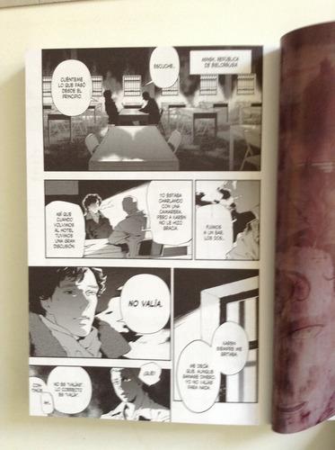 sherlock: el gran juego manga serie sherlock holmes