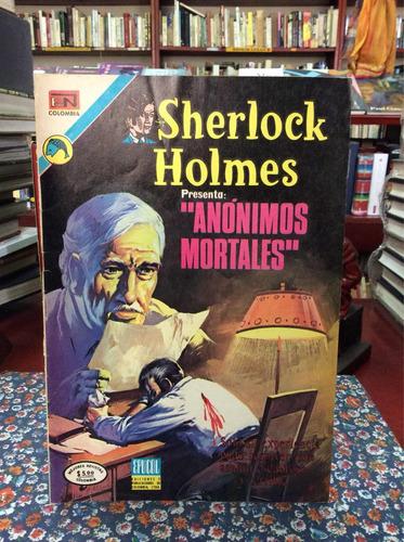 sherlock holmes año i no 3 1973 cómic antiguo anónimo mortal