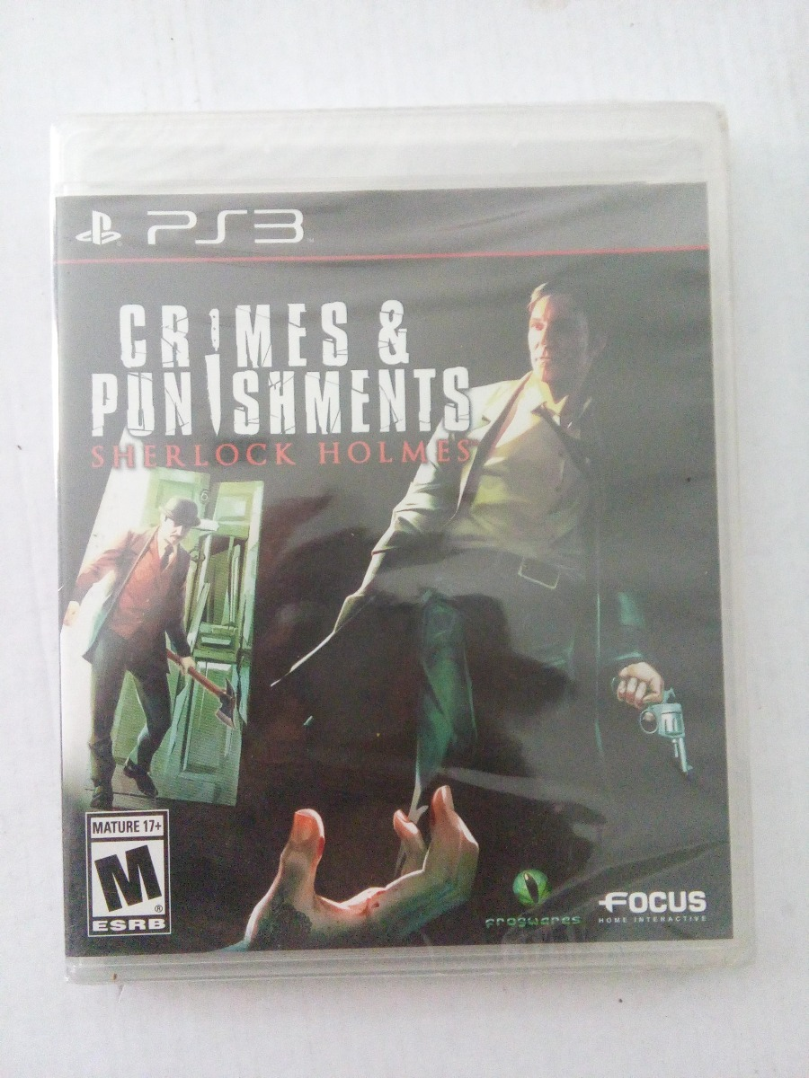 Sherlock Holmes Crimes Punishments Ps3 Nuevo Playstation 3