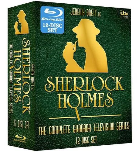 sherlock holmes: the complete series [blu-ray] jeremy brett