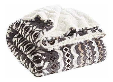 sherpa ultra soft y cosy throw  x  para sofá, cama, x,...
