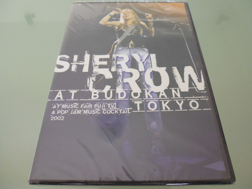 sheryl crow /  at budokan tokyo / live / dvd / importado /