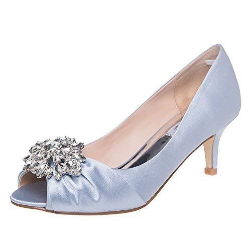 c6263738730 Shesole Zapatos De Boda De Tacón Bajo Para Mujer Con... -   56.990 ...