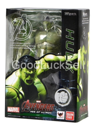 s.h.figuarts marvel vengadores edad de ultron hulk acción fi