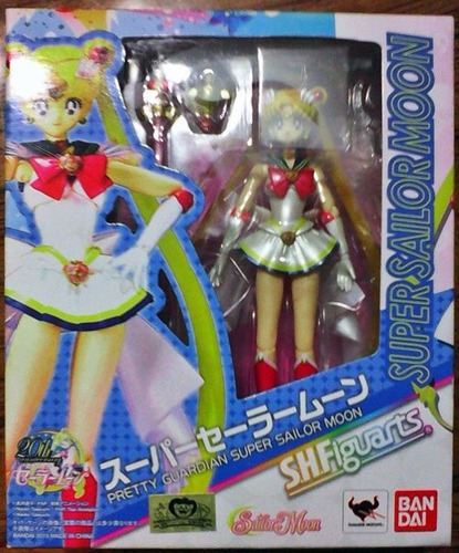 s.h.figuarts sailor moon - super sailor moon ver. jp