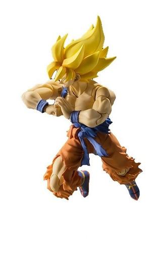 s.h.figuarts super warrior awakening goku inc. efecto aura