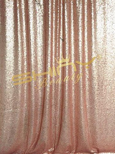 shidianyi 4ftx6ft-blush-sequin foto backdrop, boda photo boo