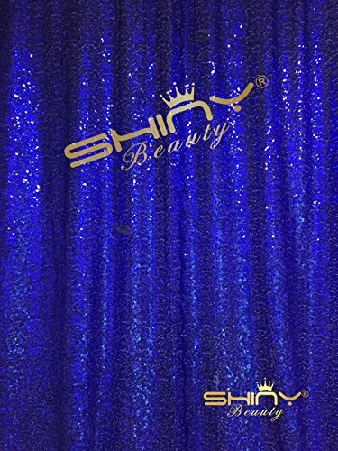 shidianyi 4ftx6ft-royal blue-sequin backdrop, shimmer sequin