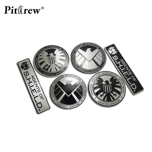 shield - emblema metal - old black hawk