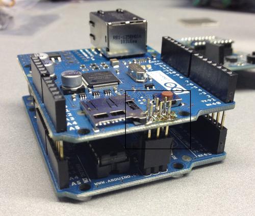 shield ethernet  r3 compatible con due, uno, mega.