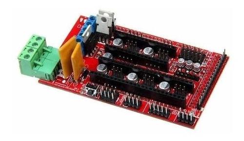 shield placa ramps 1.4 reprap impressora 3d arduino mega uno