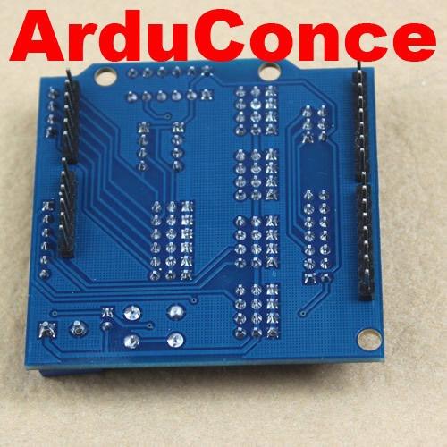 shield v5 sensor  motor servos arduino uno mega due