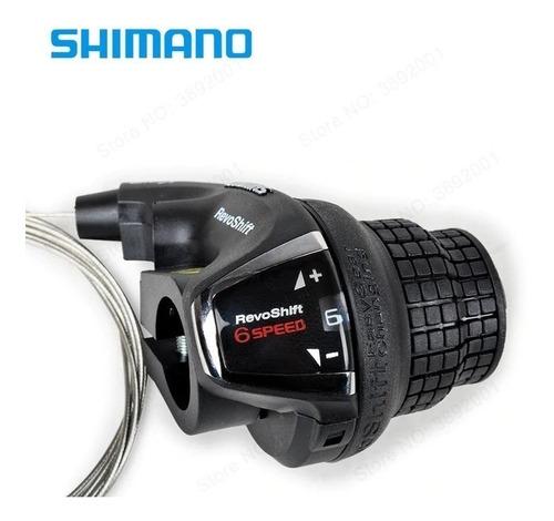 shifter de cambio shimano sl-rs35 6v. revoshift derecha