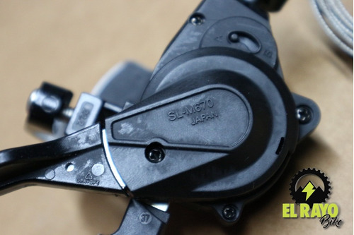 shifter shimano slx m670 2/3v (izquierdo)