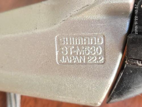 shifter y frenos shimano deore  st-m530 dual control + cable