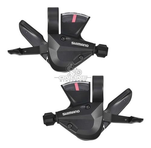 shifters shimano altus sl-m310 3x8v visor abrazader original