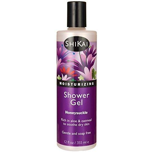 shikai - gel humectante diario para la ducha, rico en aloe v