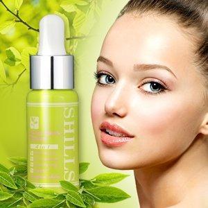 shills aceite de árbol de té- ácidos y peelings faciales