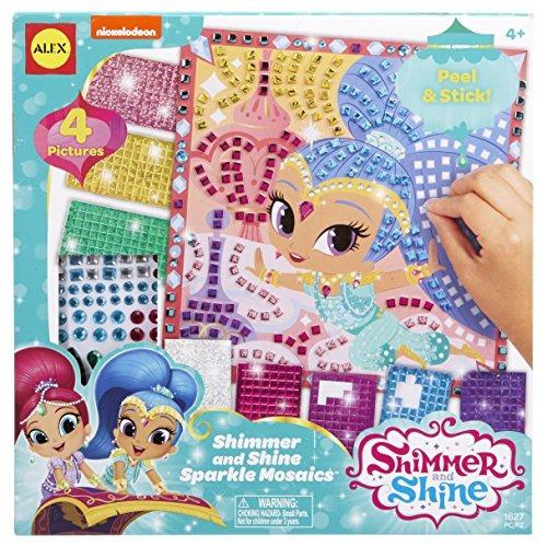 shimmer y shine sparkle mosaics