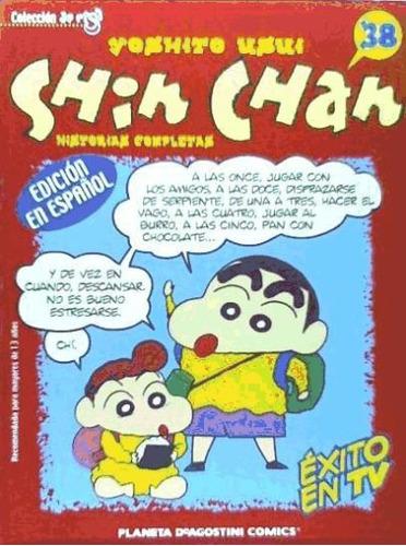 shin chan(libro cómic infantil y juvenil)
