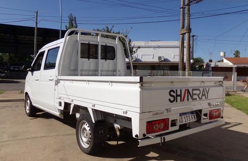 shineray t32 d/cabina nafta abs + esp full año 2019, único!