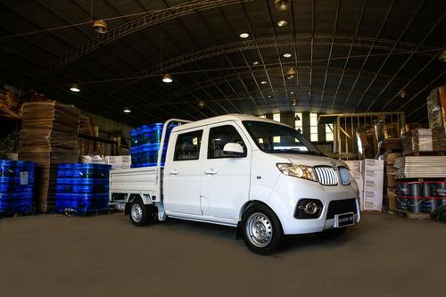 shineray t32 dob. cabina, carga 850 kg. en stock