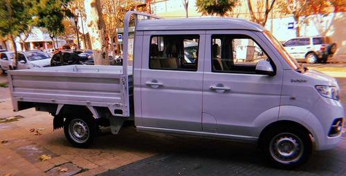 shineray t32 minitruck doble cabina 0 km. full carga 850 kg.