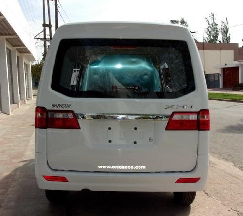 shineray x30 furgon 2 plc full abs + esp + 2ab 0km año 2020
