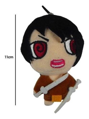 shingeki no kyojin attack on titan peluche llavero eren 11cm