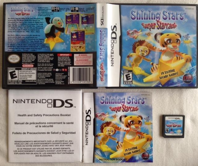 Shining Stars 19 Juegos Nintendo Ds Lite Dsi 3ds Usa 1