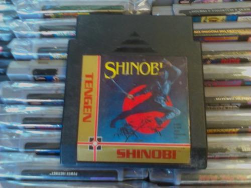 shinobi nintendo nes cartucho