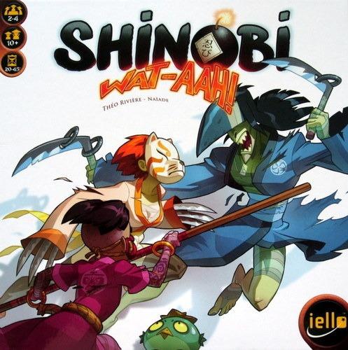 shinobi wat-aah - jogo de cartas importado iello