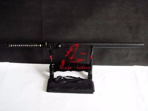 shinobigatana ninjato espada ninja afiada corte aço carbono