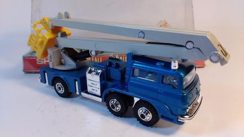 shinsei mini power camión snorkel con canastillo años 80´s