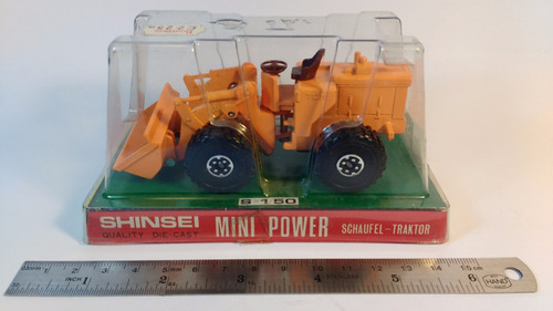 shinsei mini power cargador frontal michigan años 80´s