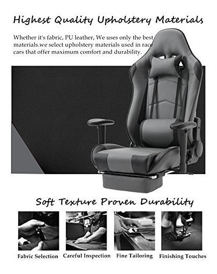 Respaldo Gaming Silla Chair Con Raci Shionoom Ergonomic Alto rWCdxeBo
